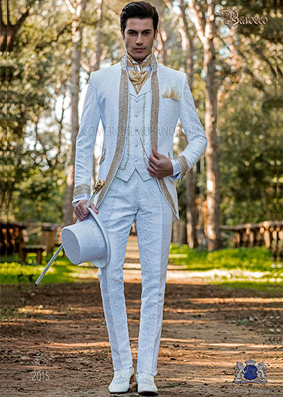Baroque groom suits collection